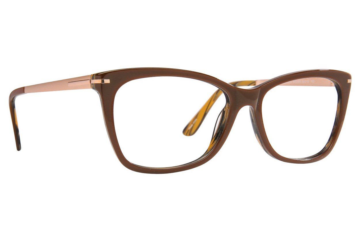 Serafina Stella Brown Glasses