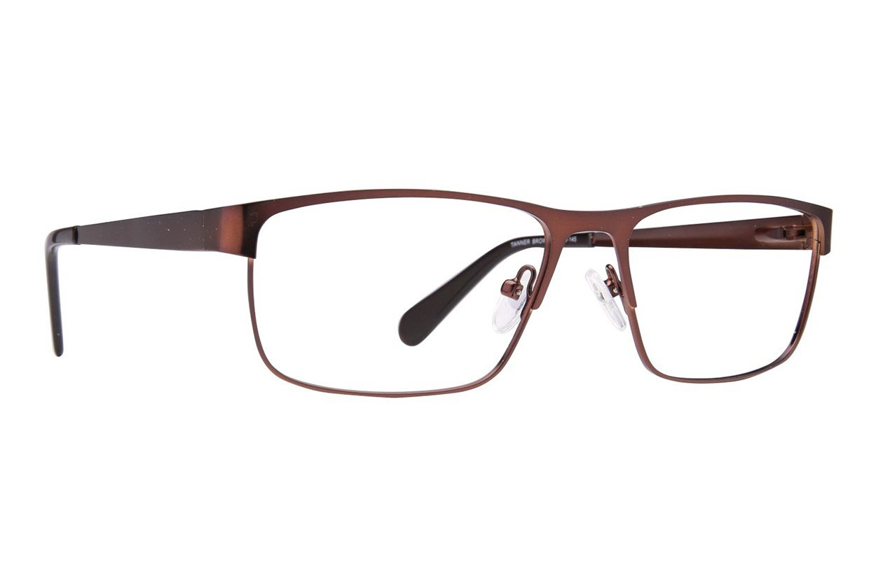 Eight To Eighty Eyewear Tanner Brown Glasses