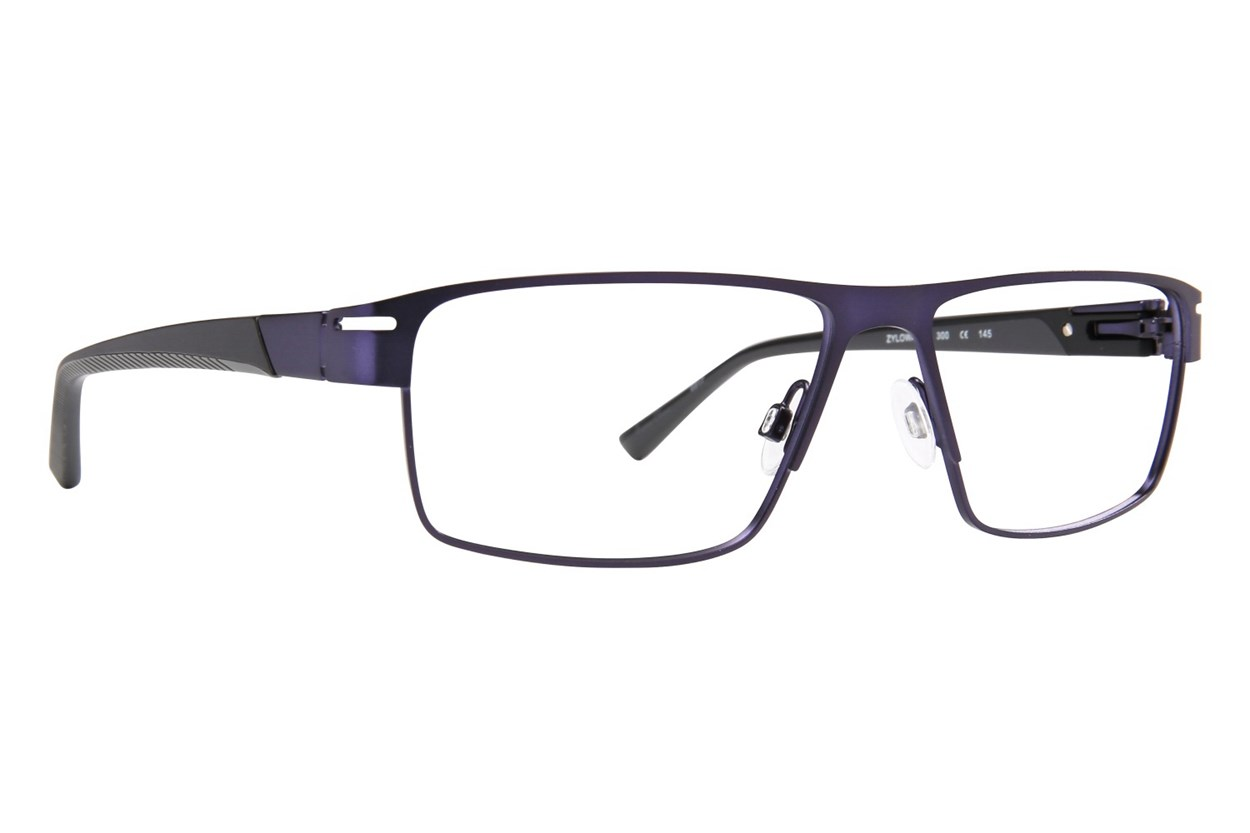 Shaq QD 124M Blue Glasses