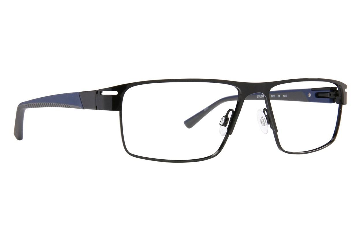 Shaq QD 124M Black Glasses