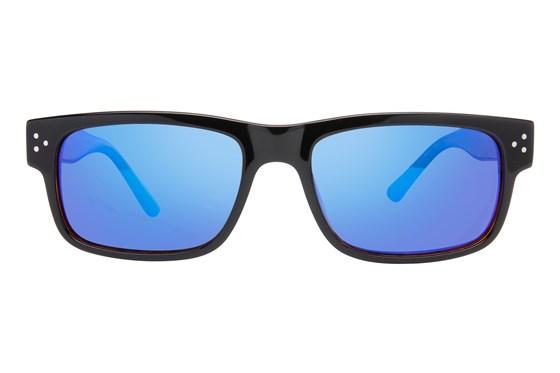 Randy Jackson RJRU S925P Black Sunglasses