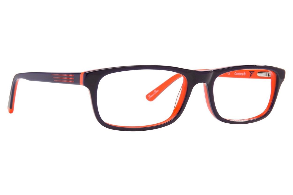 Cantera Curveball Orange Glasses