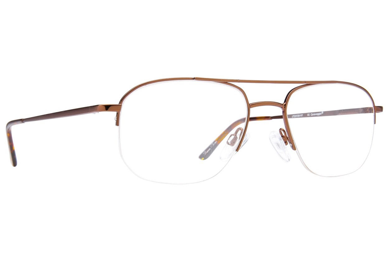 Caravaggio Ardon Brown Glasses