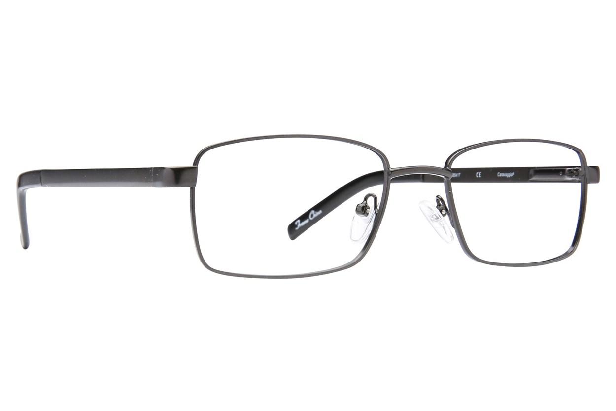 Caravaggio C416 Black Glasses
