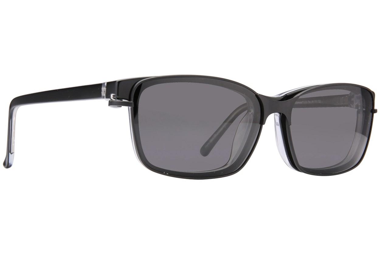 Alternate Image 1 - Revolution Hoboken Black Glasses