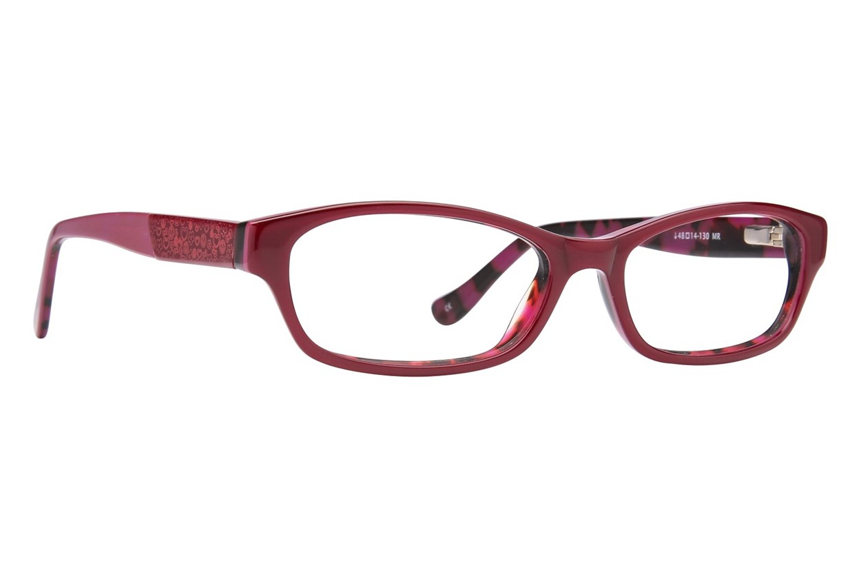 Kensie Girl Peace Red Glasses