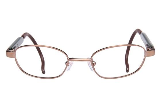 dilli dalli Hot Shot Brown Glasses