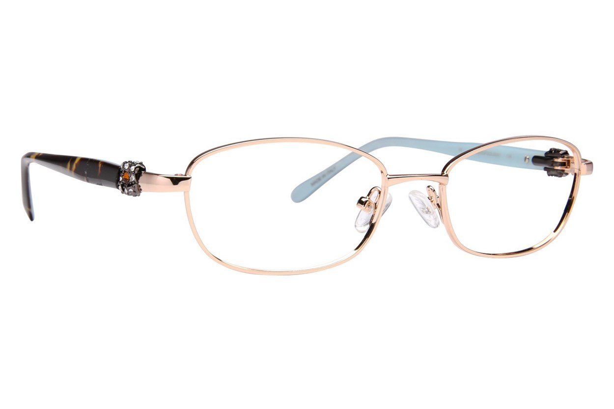 Renato Balestra RB003 Gold Glasses