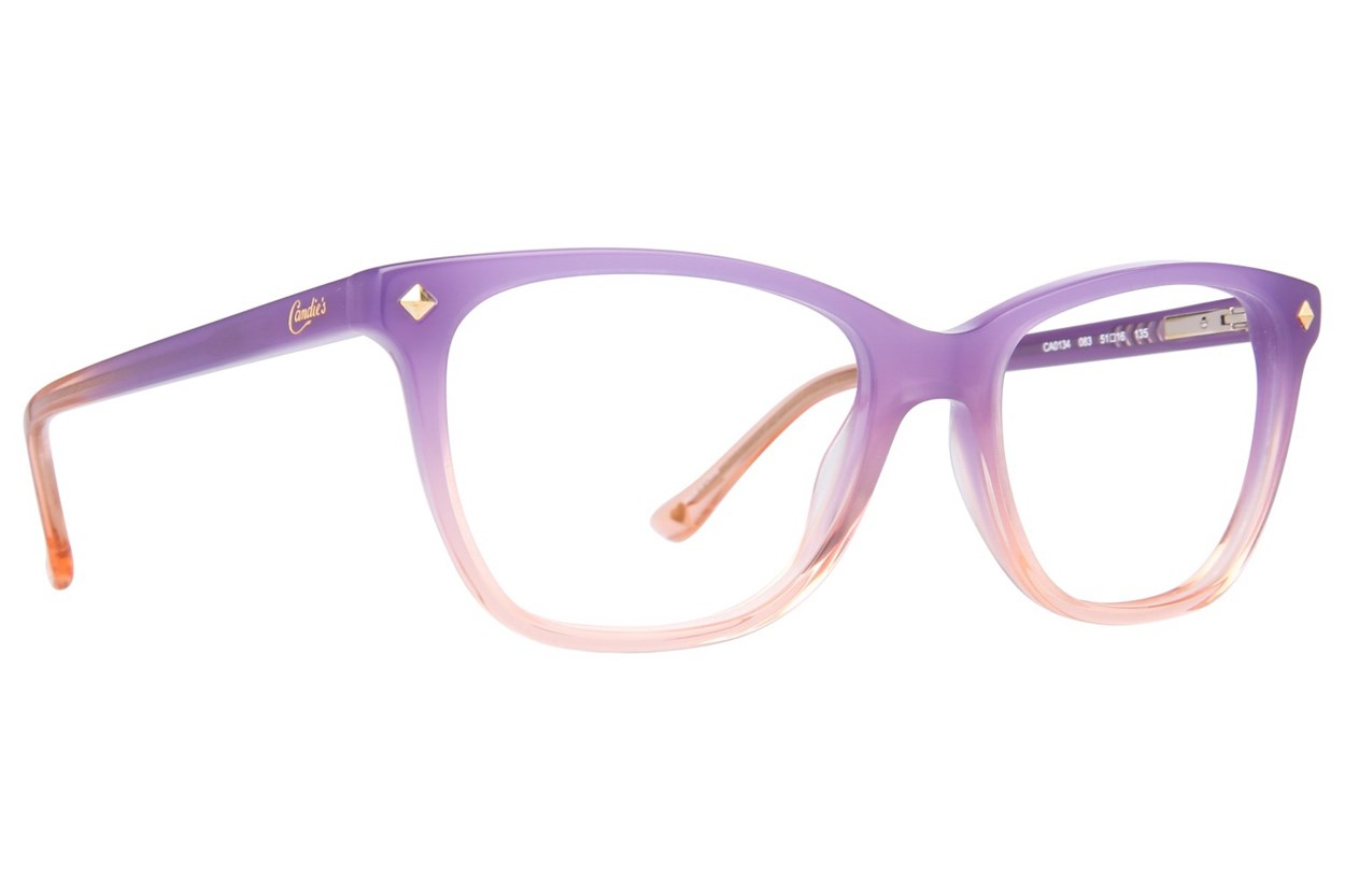 Candie's CA0134 Purple Glasses