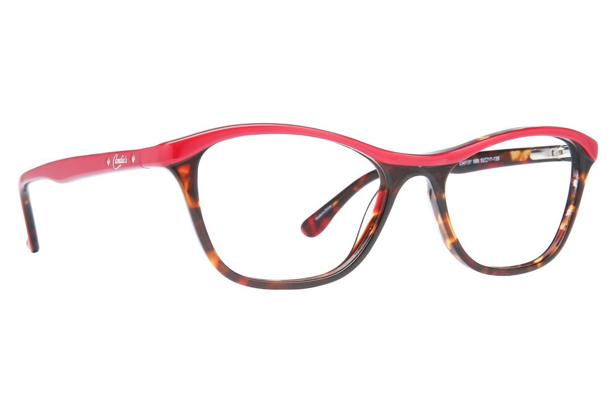 Candie's CA0137 Red Glasses