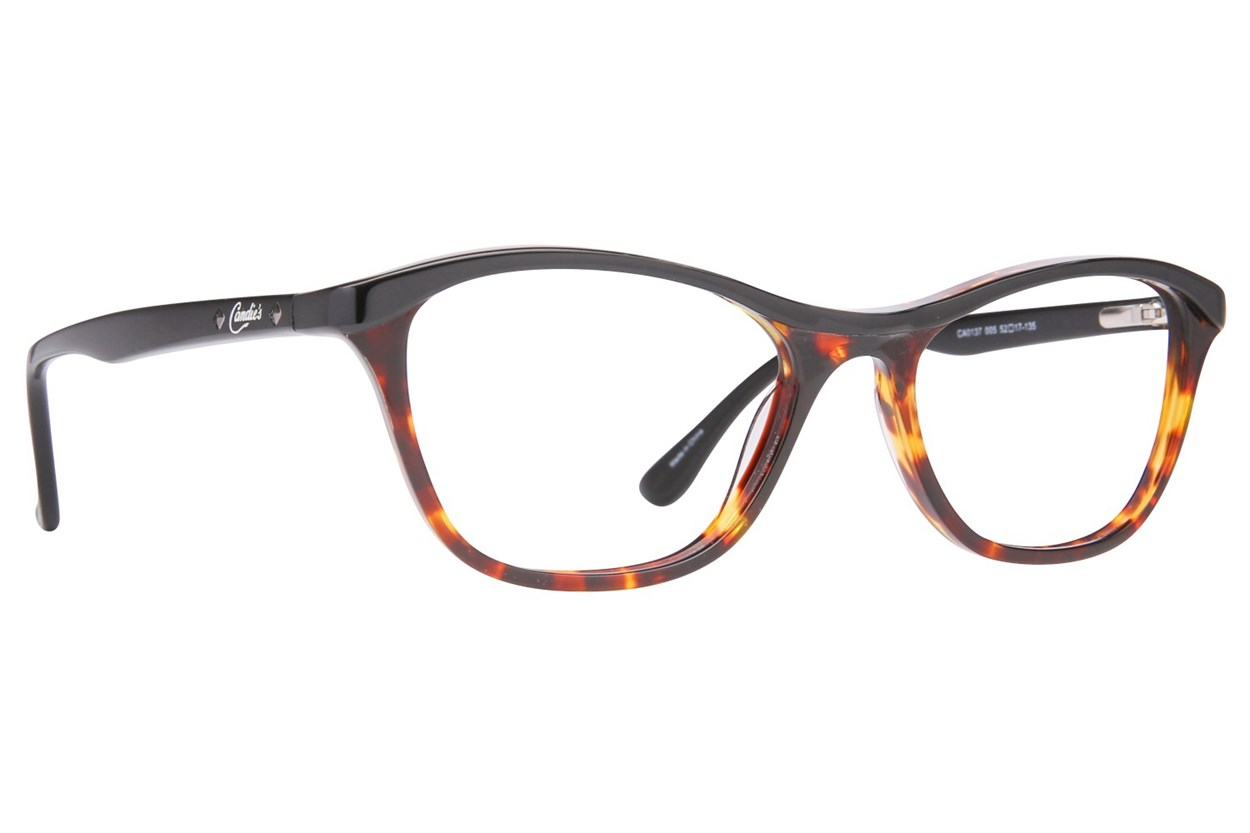 Candie's CA0137 Black Glasses