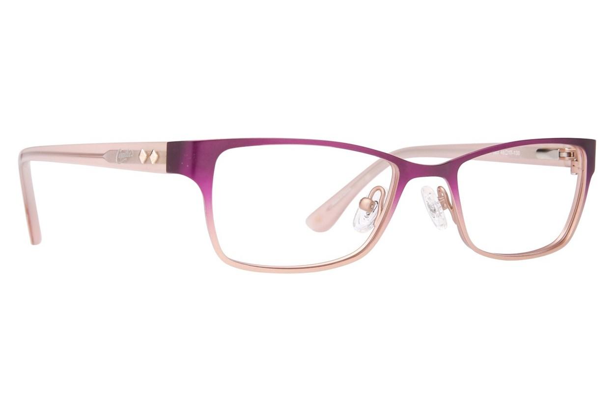 Candie's CA0501 Purple Glasses