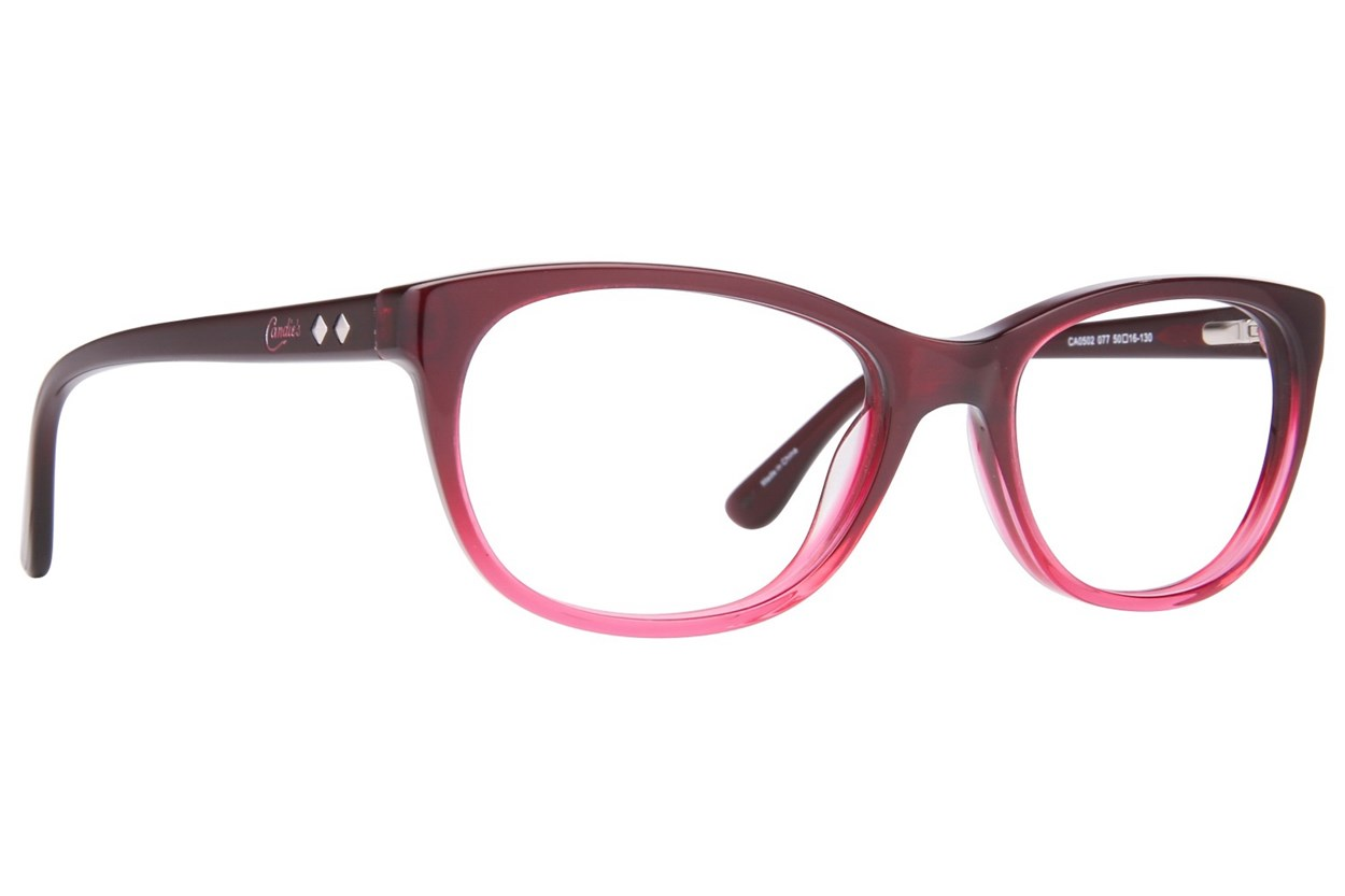 Candie's CA0502 Pink Glasses