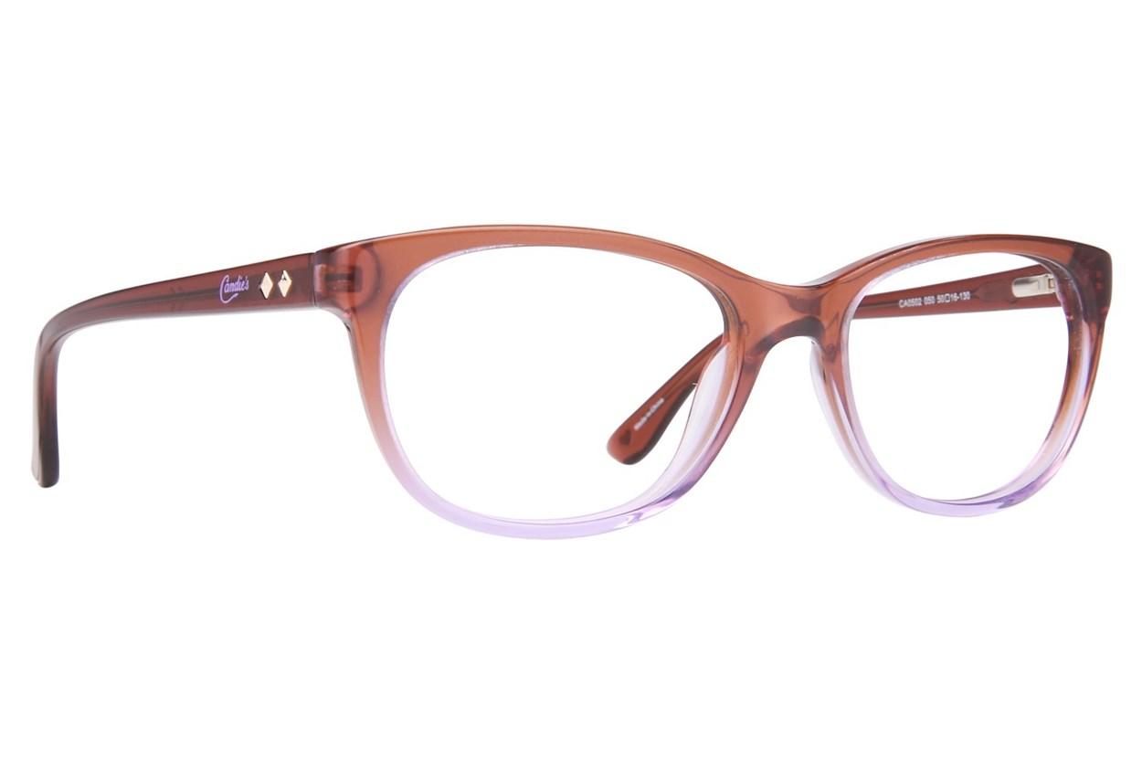 Candie's CA0502 Brown Glasses