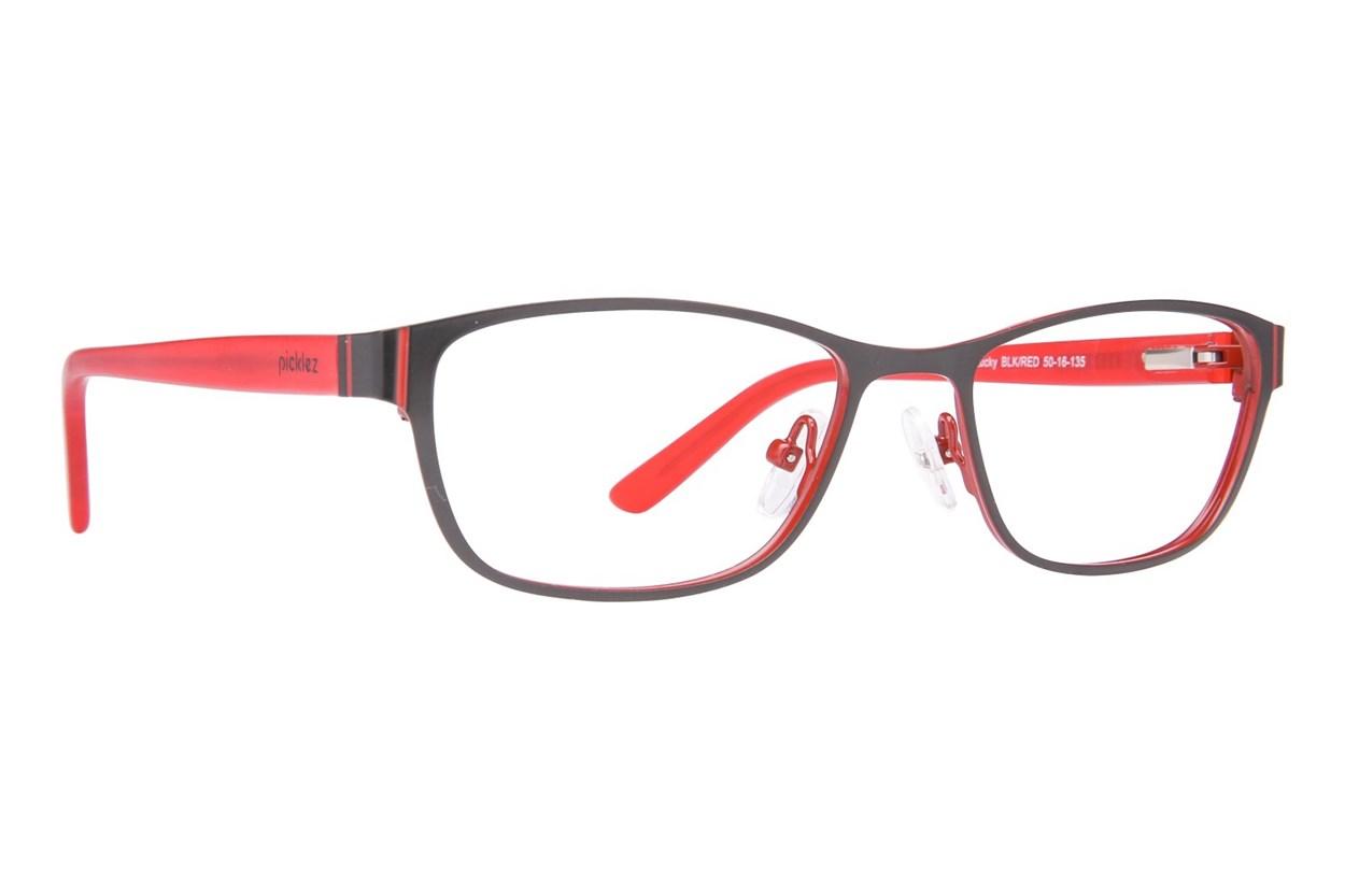 Picklez Lucky Black Glasses