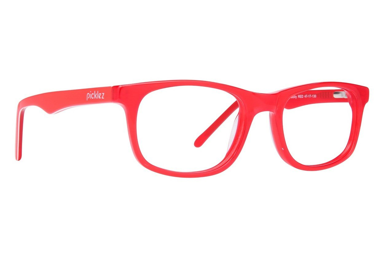 Picklez Molly Red Glasses