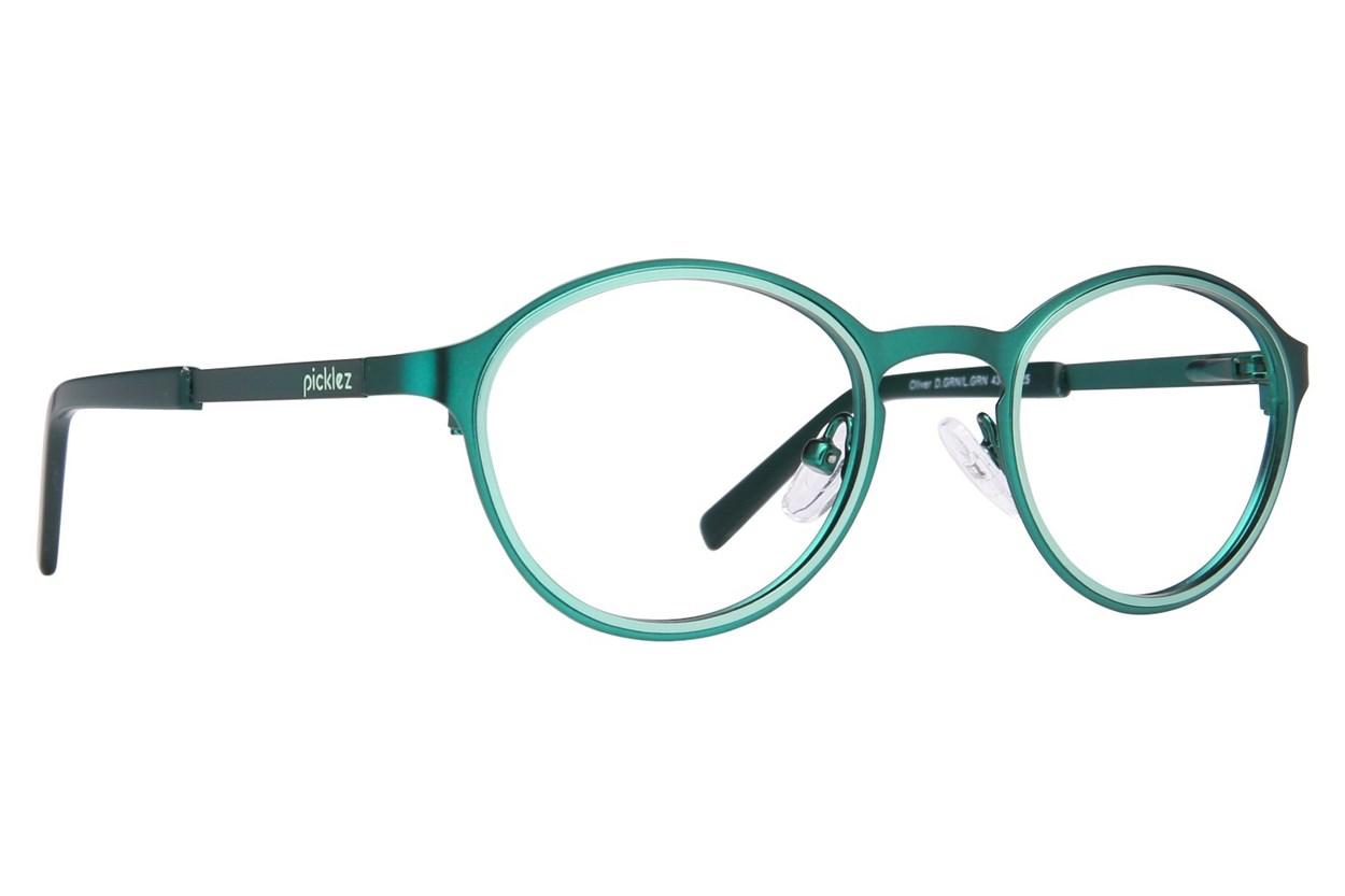Picklez Oliver Green Glasses