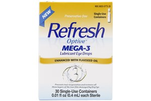 Click to swap image to Refresh Optive Mega-3 Eye Drops (.4 ml)