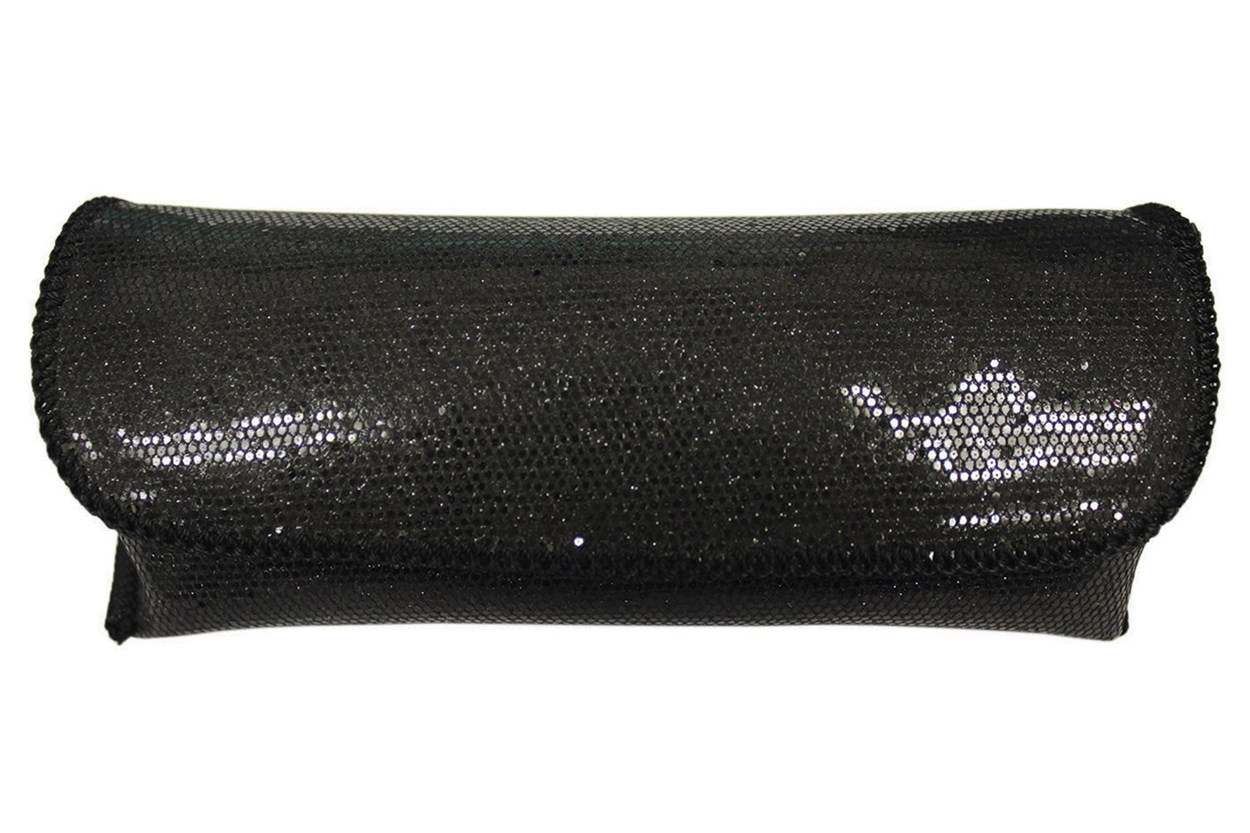 Opti-Pak Sequin Eyeglass Case Black GlassesCases