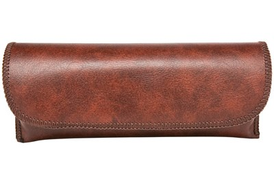 Opti-Pak Semi-Hard Eyeglass Case Brown
