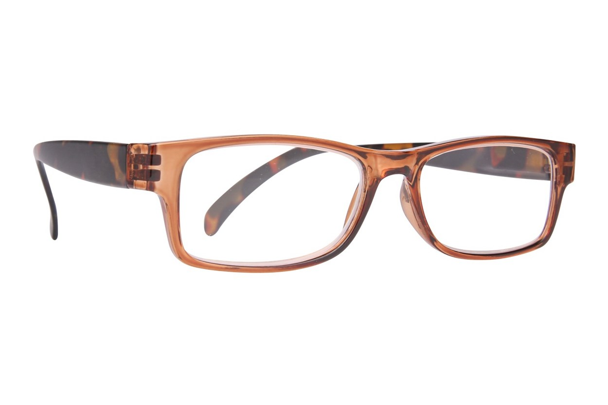 Evolutioneyes EY8354Z Reading Glasses Brown ReadingGlasses