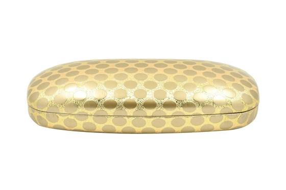 Evolutioneyes Polka-Dot Eyeglass Case Gold GlassesCases