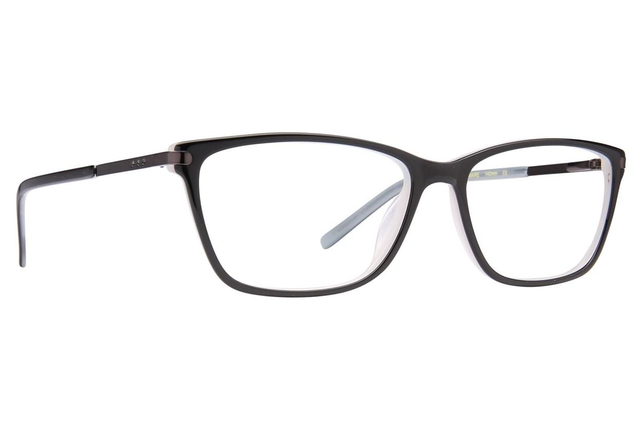 Via Spiga Simonetta Black Glasses