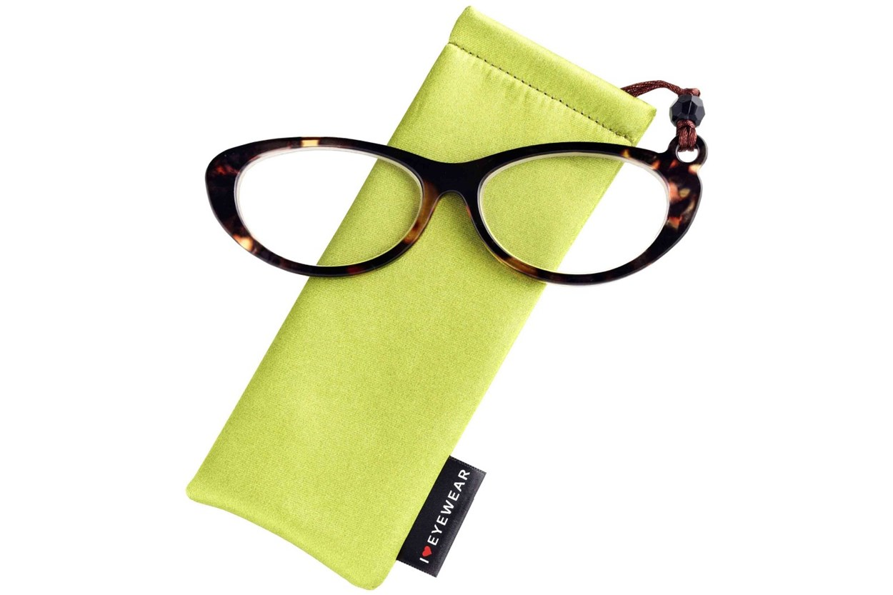 Alternate Image 1 - Eye Candy Swanky Spectacles ReadingGlasses - Tortoise