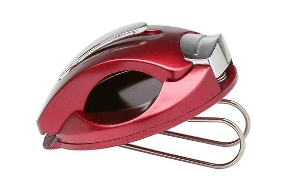I Heart Eyewear Metallic Visor Clips Red OtherEyecareProducts