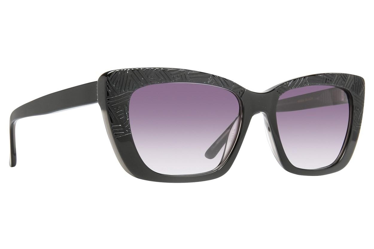 Leon Max Brea Black Sunglasses