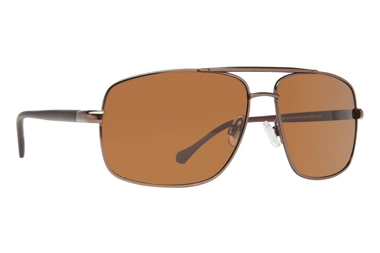 M By Max Studio MX2142 Brown Sunglasses