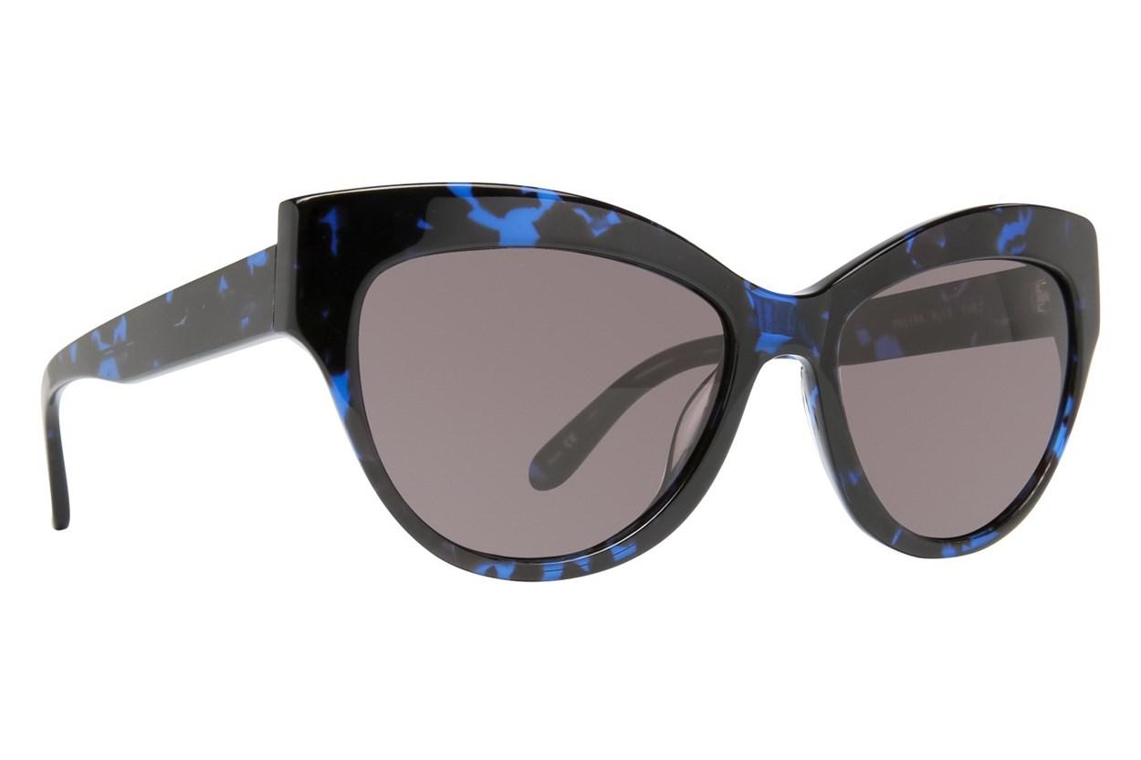 Leon Max Polina Blue Sunglasses