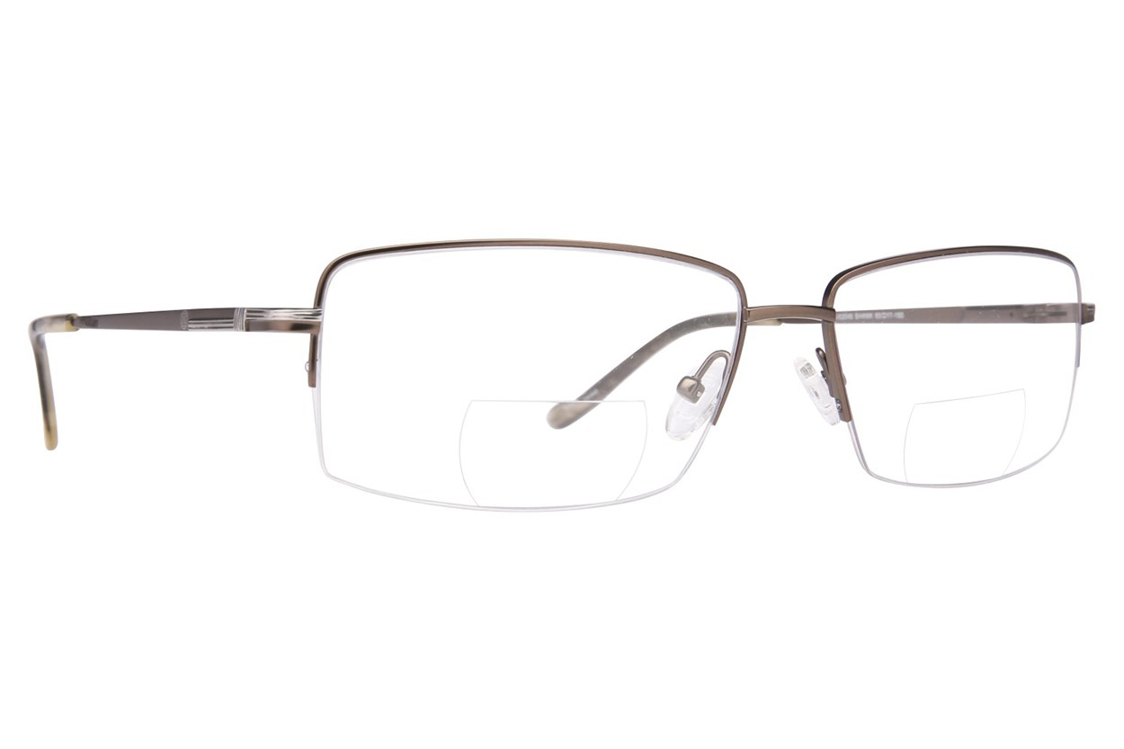 John Raymond Shank Reading Glasses Gray