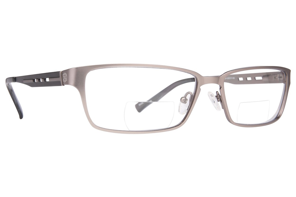 John Raymond Push Reading Glasses Gray ReadingGlasses