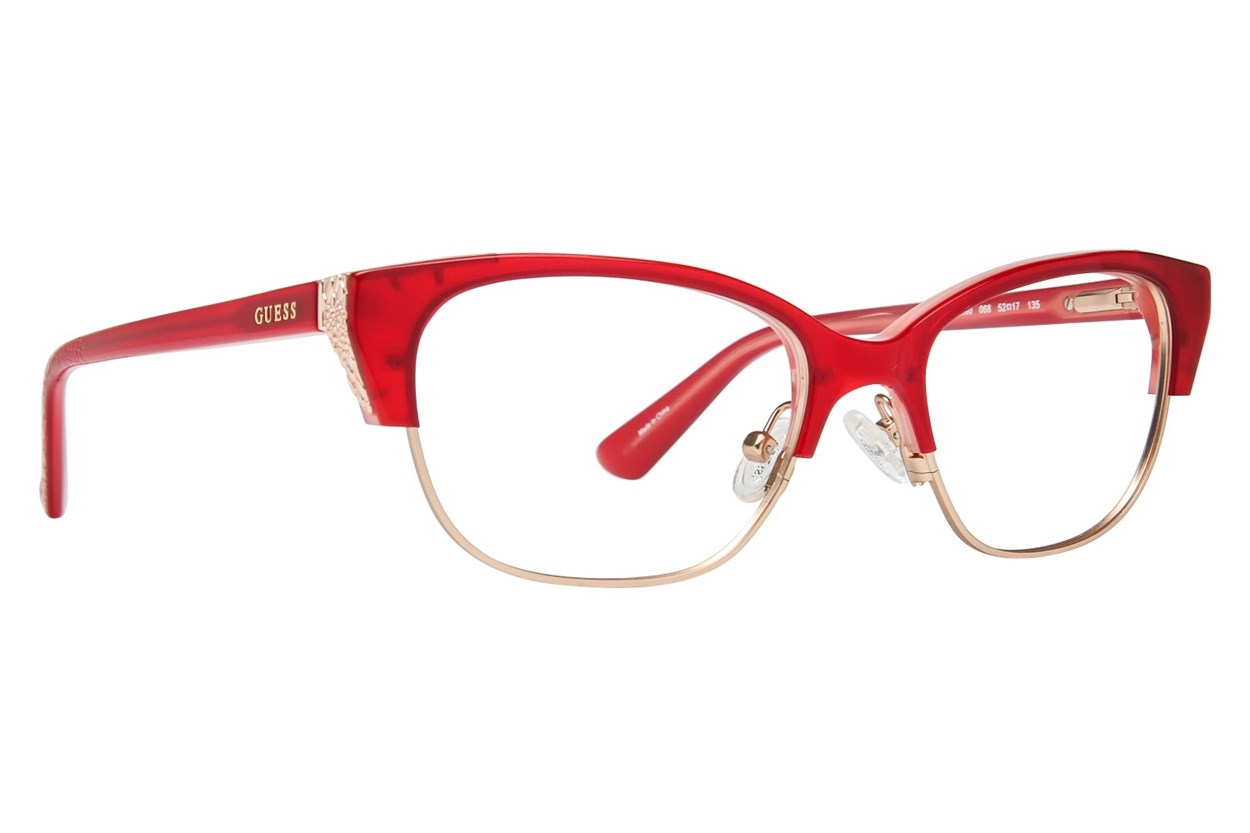 GUESS GU 2590 Red Glasses