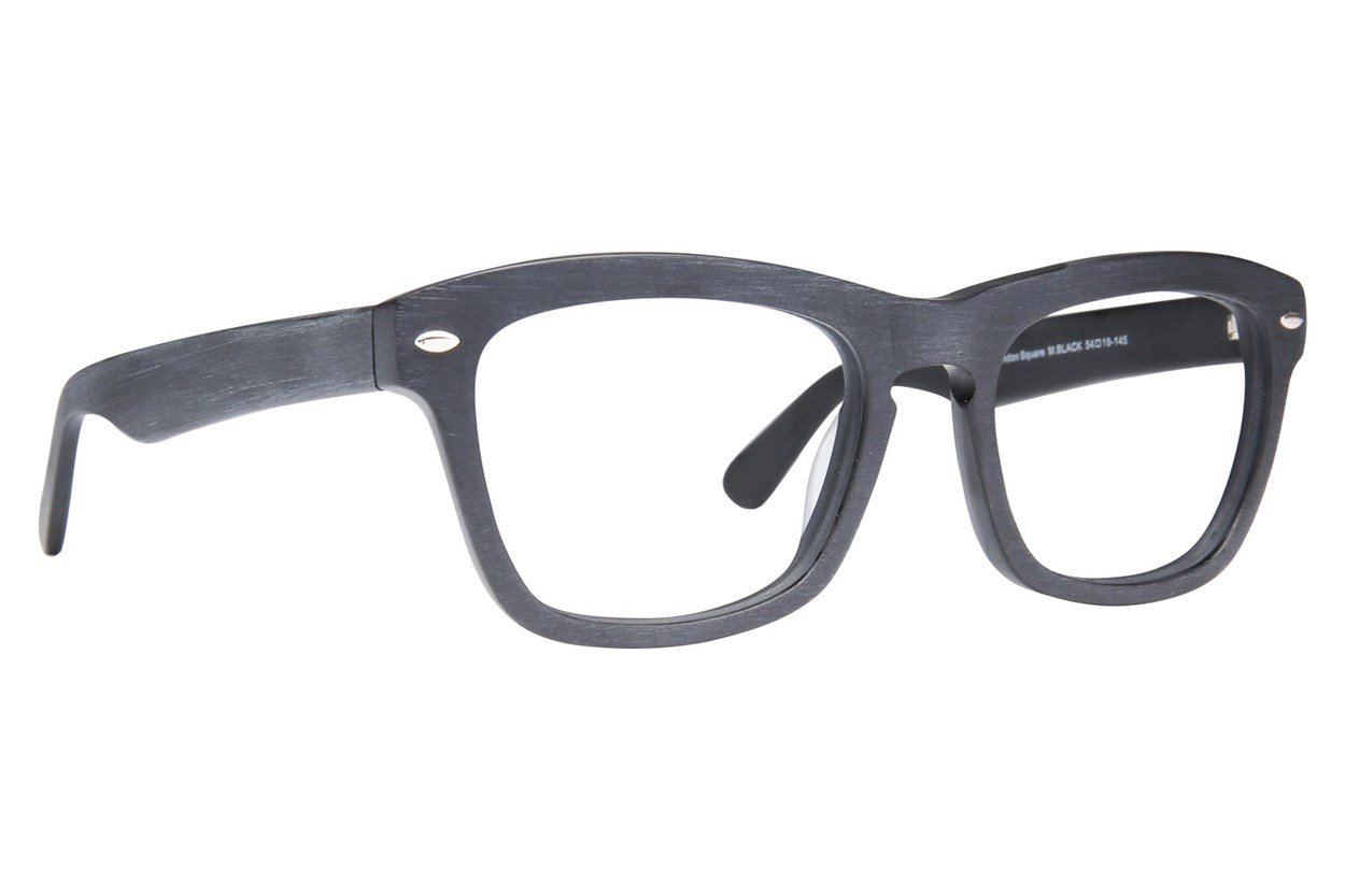 Westend Blendon Square Black Glasses