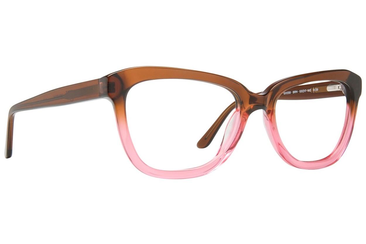 GX By Gwen Stefani GX030 Brown Glasses