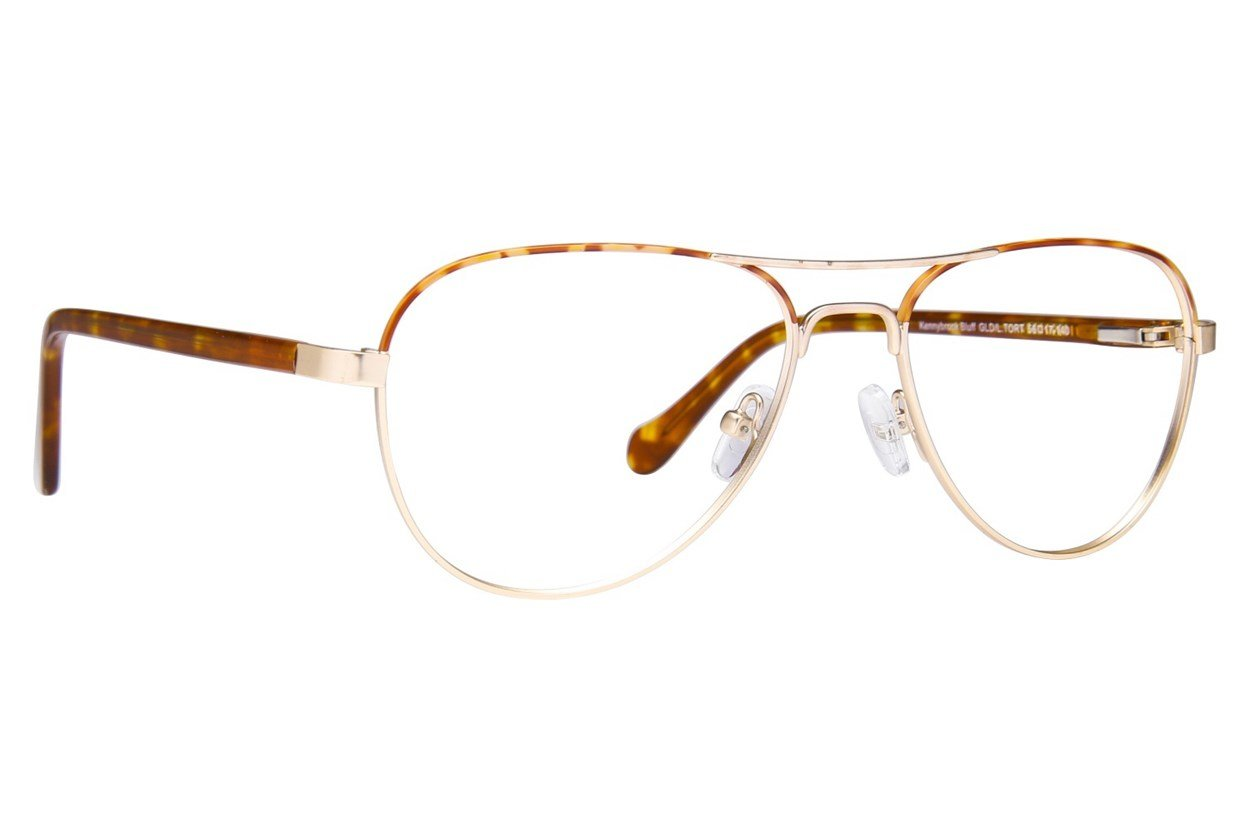 Westend Kennybrook Bluff Eyeglasses - Gold