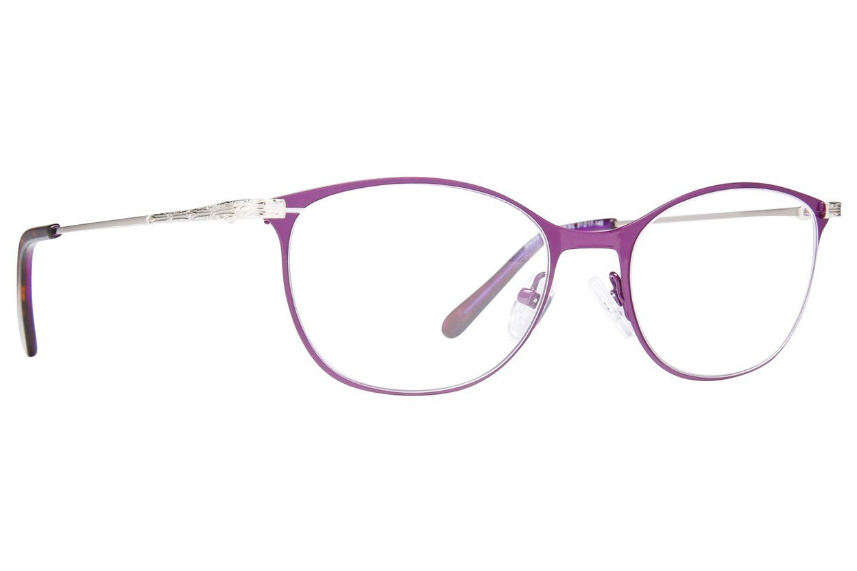 Westend Marble Cliff Purple Glasses