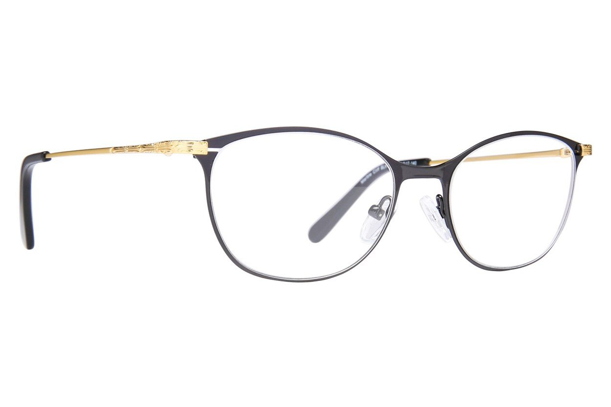Westend Marble Cliff Eyeglasses - Black