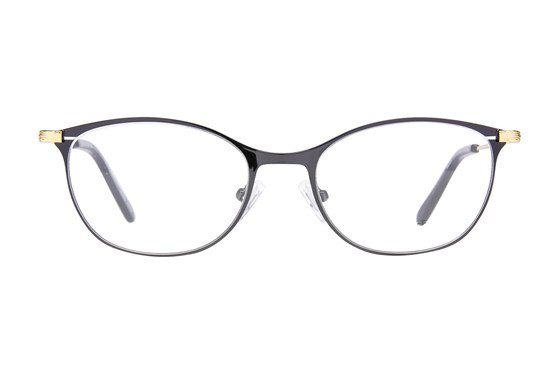Westend Marble Cliff Black Glasses