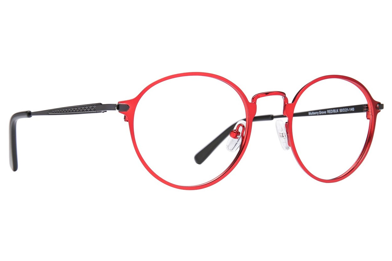 Westend Mulberry Grove Red Glasses