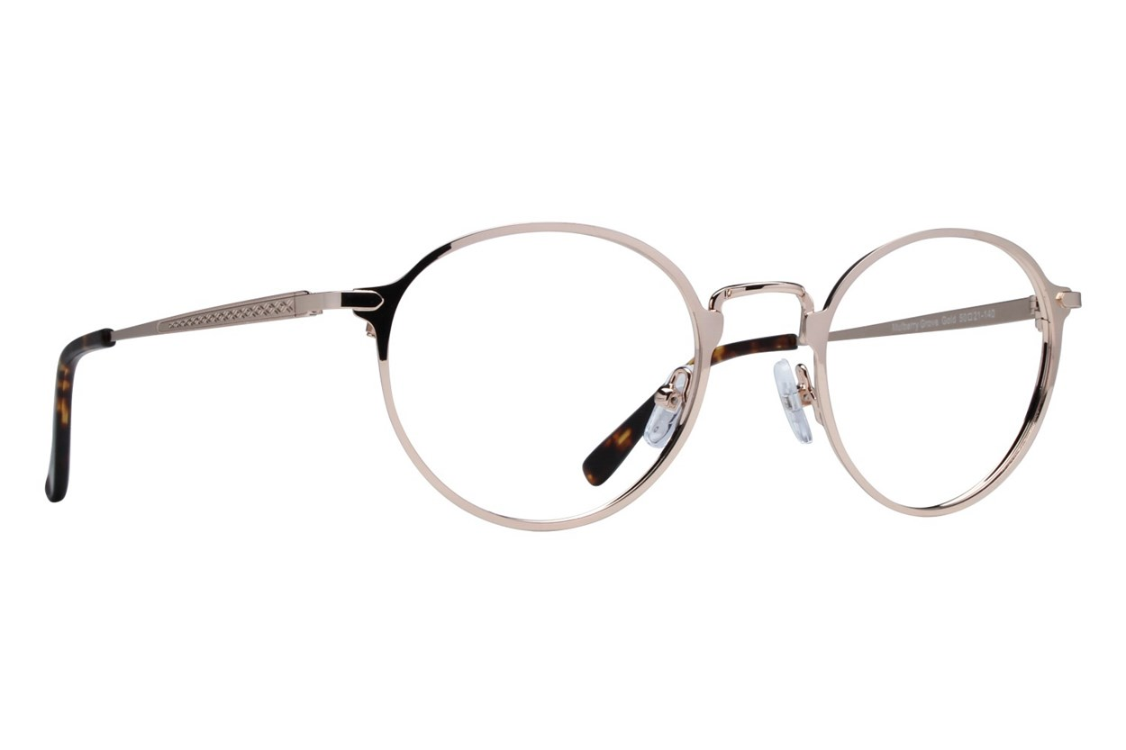 Westend Mulberry Grove Gold Glasses