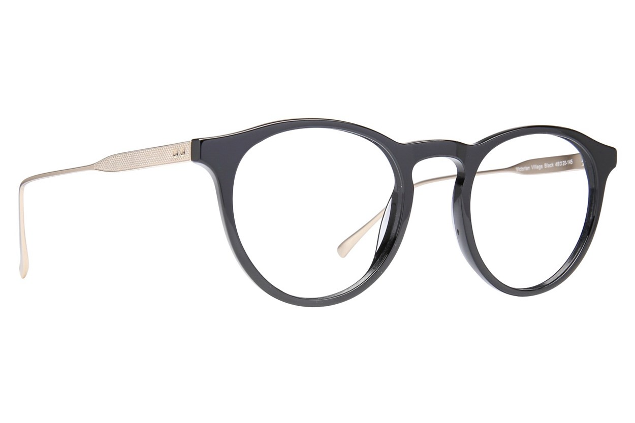 Westend Victorian Village Black Glasses