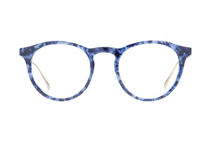 Westend Victorian Village Blue Glasses