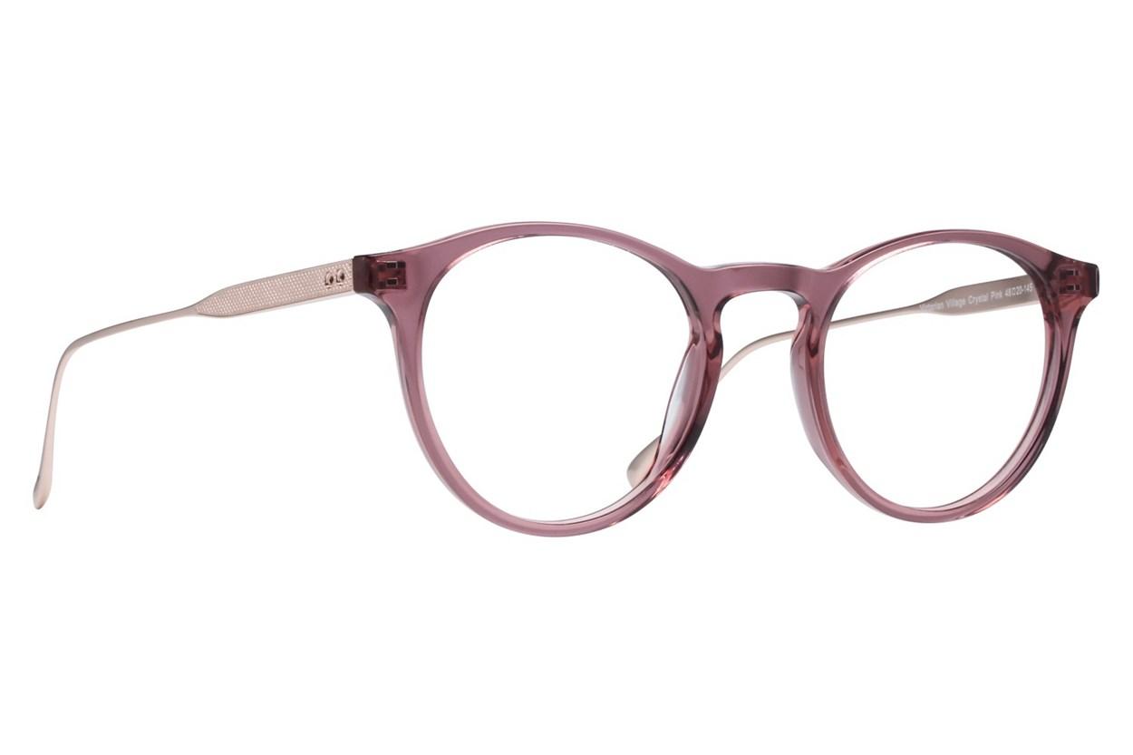 Westend Victorian Village Pink Glasses