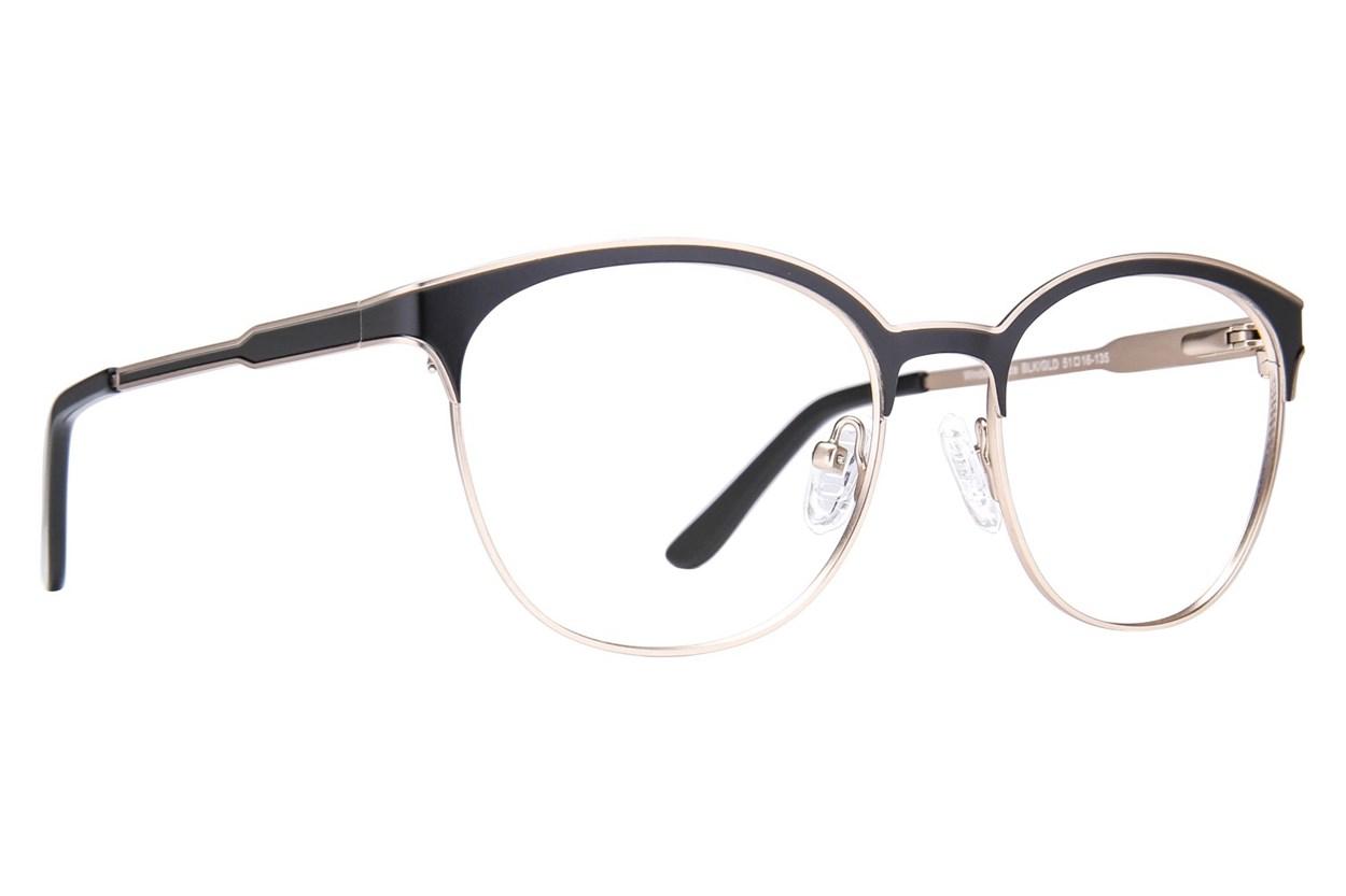 Westend Windsor Place Black Glasses