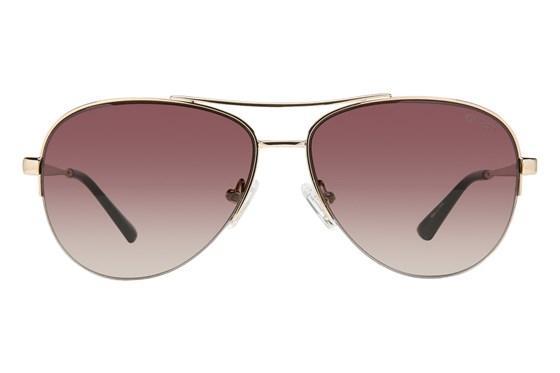 GUESS GU 7468 Gold Sunglasses