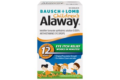 Bausch and Lomb Children's Alaway Eye Drops (0.17 fl oz)