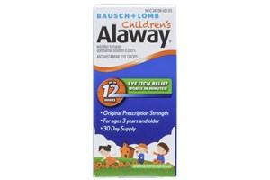Click to swap image to Bausch and Lomb Children's Alaway Eye Drops (0.17 fl oz)
